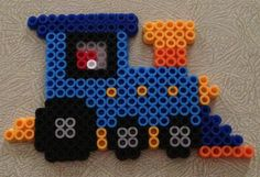 Train perler beads by John H.- Perler® | Gallery