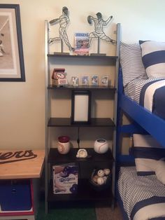 More Shelves Dodgers Baseball Baseballbedroom