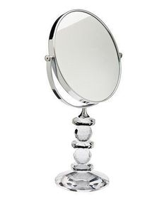 This Faceted Crystal Swivel Mirror is perfect! #zulilyfinds
