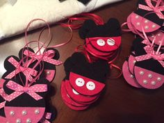 Mickey or Minnie Fish Extender Gift Ornaments by tlsloan on Etsy https://www.etsy.com/listing/234678129/mickey-or-minnie-fish-extender-gift