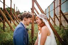 Shona and Fin's colourful and epic Larchfield Estate wedding by The Lou's | www.onefabday.com