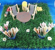 Geldgeschenk basteln / Gartenmöbel