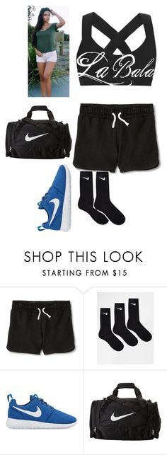"""""""Carmen: BJJ Class"""" by lsd-and-halloweencandy ❤ liked on Polyvore featuring Circo and NIKE"""