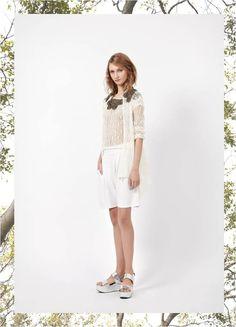 #JulianaGevaerd #ColeçãoBlow #Verão15JG Cardigan e Blusa Breathless - Short Inception