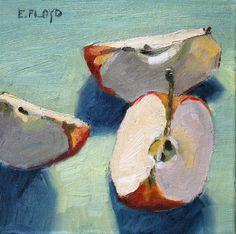 Apple Wedges by Elizabeth Floyd