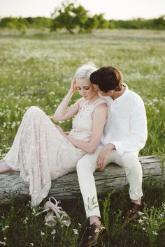 Ethereal Engagement Session ~  Margot Landen Photography