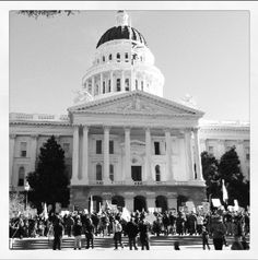 Rally at the California State Capital
