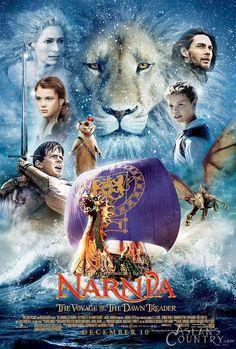 Dawn Treader movie poster