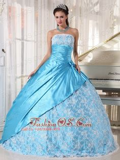 Buy new style aqua blue taffeta strapless quinceanera gown dress with lace from light blue quinceanera dresses collection, strapless neckline ball gowns in color,cheap floor length taffeta lace dress with lace up and for sweet 16 quinceanera . Sweet Sixteen Dresses, Sweet 15 Dresses, Light Blue Quinceanera Dresses, Prom Dress 2014, Dresses 2013, Popular Dresses, Prom Gowns, Blue Dresses, Dresser