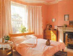 Decoracion dormitorio de matrimonio cortinas decoraci n - Dormitorios colores calidos ...