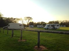 Tin Box Traveller blog: Black Knowle Caravan Club site where we spent part of our Easter break