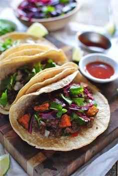 Simple Beef Street Tacos | Bev Cooks