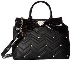 a59e91705ddd Betsey Johnson Women s Large Satchel Black One Size Betse. Tink England ·  My Style Handbags