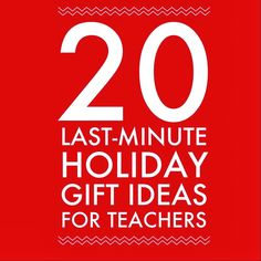 Land O'Moms – For Moms, By Moms Community – 20 Last-Minute Holiday Gift Ideas for Teachers