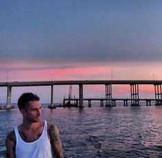 Adam, the ocean, and sunset... These are a few of my favorite things!
