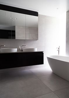 Fendalton Residence III by Lume Design - Bathroom NZ | #bathroominspiration #bathroominteriordesign #bathroomsnz Lowes Bathroom, Bathroom Basin, Bathrooms, Bathroom Interior Design, Bathroom Designs, Bathroom Ideas, Modern Farmhouse Plans, Bathroom Inspiration, Decoration