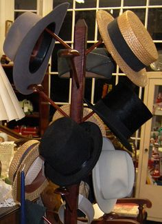 Hats for men 1920's