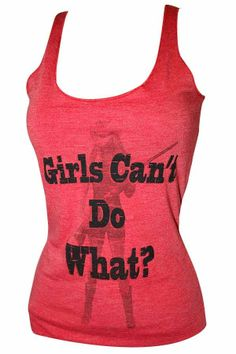 ef662fdee98 Reckless Country Women s Girls Can t Do What Tank Top - Red