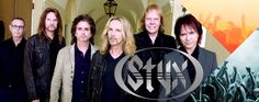 Styx - Hitmakers from Chicago IL.  They had 14 Top 40 hits from the mid-70s through the mid-80s.  Half of those made it into the Top 10 on Billboard! (Radio interview - Hollywood with James Long, lead guitar)