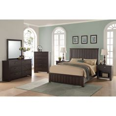 Wexford 6 Piece King Bedroom Set