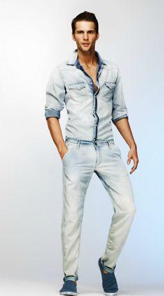 Tomas Skoloudik for Gas Jeans Spring / Summer 2012 lookbook