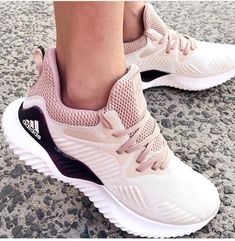 With the new Adidas running shoes;in every step you will be charged with light and fast energy; this is the new boost by Adidas running shoes. The boost Cute Shoes, Me Too Shoes, Daily Shoes, Sneakers Fashion, Fashion Shoes, Sneakers Style, Fashion Outfits, Mom Fashion, Pink Fashion
