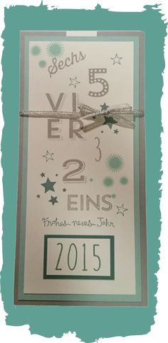 Karte / Card / New Year / Neujahr / Stampin' Up! / 24 Türchen / Perpetual Birthday Calendar  www.sandrastempelt.de