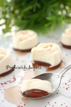 Bavarese alla vaniglia con gelè al fragolino