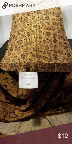 Lularoe sunflower skirt New w/o tags, lularoe sunflower skirt. Super comfortable! LuLaRoe Skirts