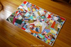 michele made me: A Crazed Little Quilt of Scraps