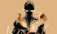 rlchards: SUNSPOT: X-Man; Fantasy Character Design, Character Design Inspiration, Character Concept, Character Art, Concept Art, Dark Fantasy Art, Fantasy Artwork, Dnd Characters, Fantasy Characters