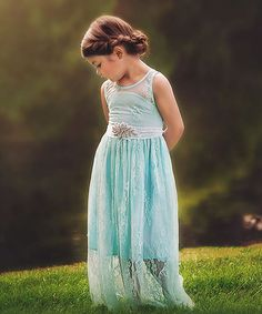 Look at this Powder Blue Alexandra Dress - Toddler & Girls on #zulily today!
