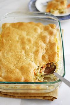 crescent-topped cheesy vegetable bake