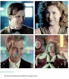 The Doctor and River Song: Look at you. Look At The Stars, Look At You, Space Man, Lgbt, Hello Sweetie, Rose Tyler, Eleventh Doctor, Torchwood, Geronimo