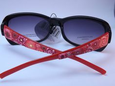 Handcrafted Polymer Clay Embellished by PolymerClayCreations, $15.00   Now that's what I call sunglasses!