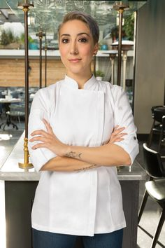 chefworks hartford chef coat $37.99 available in white, slate blue, black