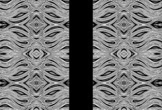 Miniature Aussie Tangle 023 Pattern in Black and White