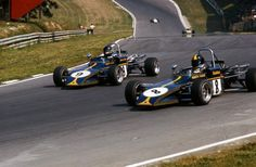 James Hunt & Bubbles Horsley as Dastle F3 team mates, a year before they became part of Hesketh's GP adventure