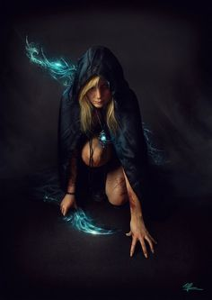 Casting the spell...  Concept Art by Rodrigo Ramos
