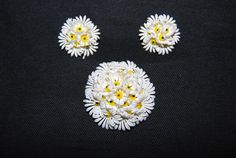 Vintage Daisy Cluster Jewelry by CheekyVintageCloset on Etsy, $19.50