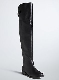 Over The Knee Tall Boots (Wide Width & Wide Calf)Over The Knee Tall Boots (Wide Width & Wide Calf), DEEP BLACK
