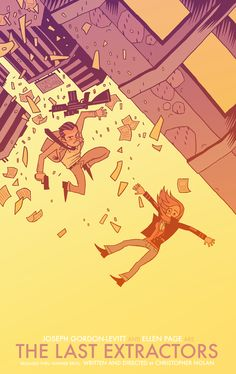The Last Extractors // Design & Illustration by Dan Hipp