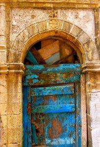 Morocco Essaouira-door-with-Jewish-star