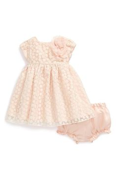 Pippa & Julie Embroidered Overlay Dress (Baby Girls) available at #Nordstrom