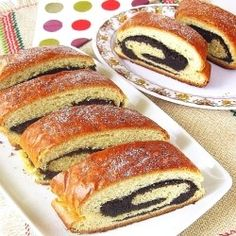 Hungarian Beigli #Recipe #Food #Dinner My mum still makes these every Christmas and Easter....looks just like mum makes them.