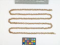 Lange Gliederkette (Gliederkette) Inventarnummer: T866 Datierung: um 1600 Material/Technik: Gold