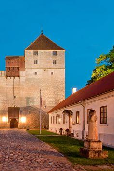 The beautiful Kuressaare castle is one of the best preserved medieval buildings in Estonia #Castle #Estonia