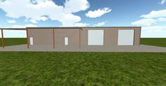 3D #architecture via @themuellerinc http://ift.tt/2bj0fGf #barn #workshop #greenhouse #garage #DIY