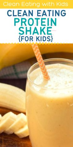 Protein Shakes For Kids, Homemade Protein Shakes, Natural Living, Homemaking, Real Food Recipes, Glass Of Milk, Beats, Clean Eating, Hands