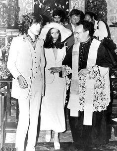 le mariage de Mick Jagger et Bianca Perez Morena - wedding - bride